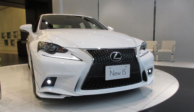 Lexus IS TRD Live Front