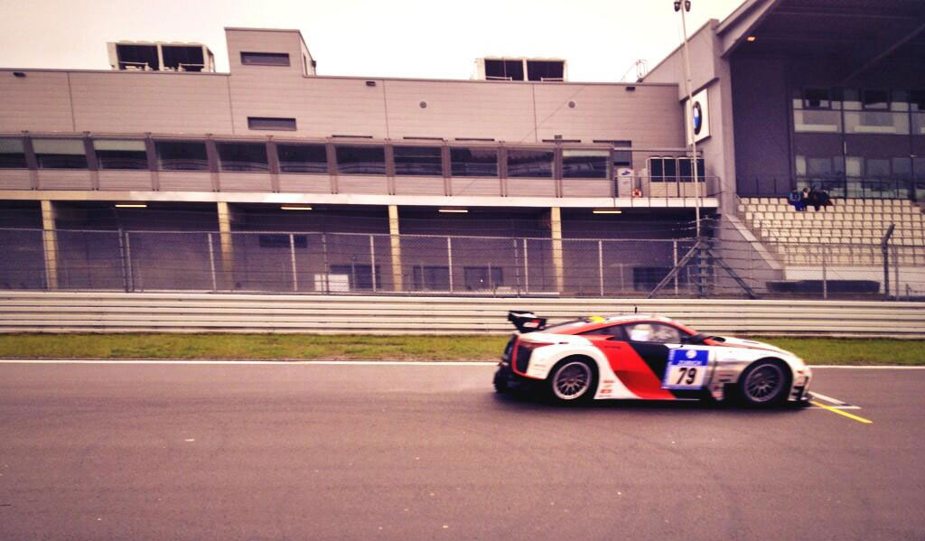 Lexus LFA Moving Past Pits
