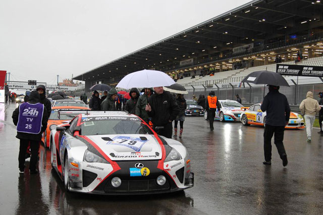 Lexus LFA Restart Rain