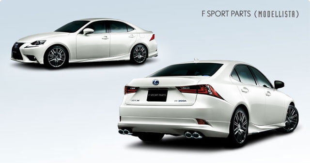 Modellista Body Kit for Lexus IS