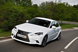 Lexus IS 300h Top Gear