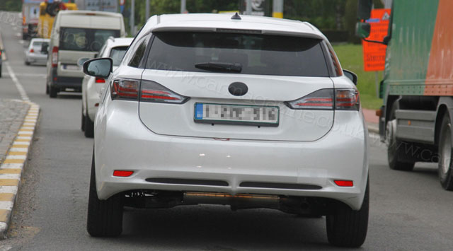Mystery Lexus Compact Crossover Rear Profile