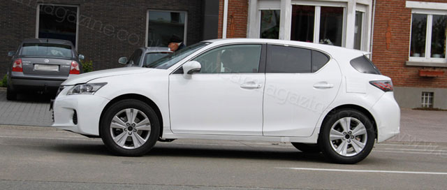 Mystery Lexus Compact Crossover Side Profile