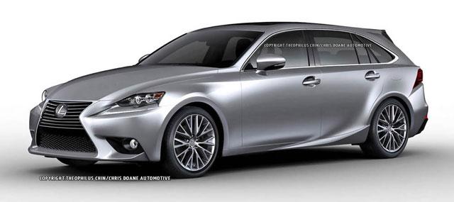 Lexus IS SportCross Front