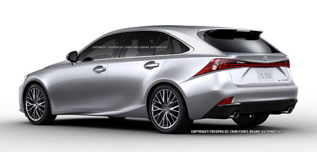 Lexus IS SportCross Rear