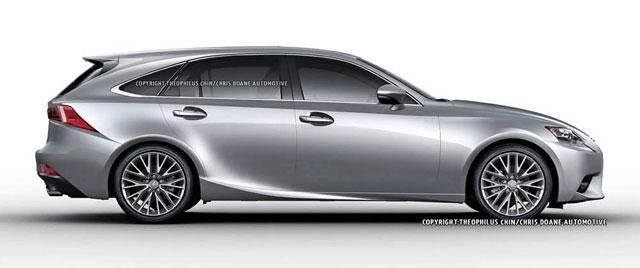 Lexus IS SportCross Side