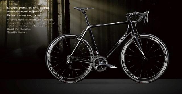Used Lexus Gx >> The Lexus F SPORT Carbon Fiber Road Bicycle | Lexus Enthusiast