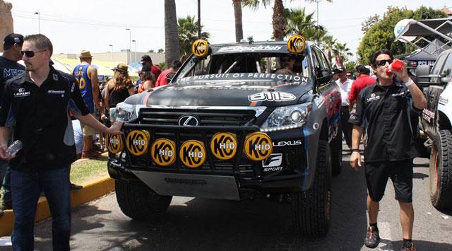 Lexus LX Baja 500 Winner