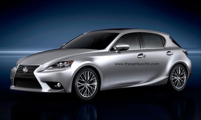 Lexus IS Hatchback Front