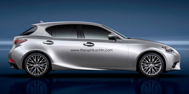 Lexus IS Hatchback Side