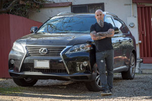 Lexus RX & Scott Ian from Anthrax