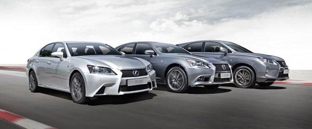 Lexus F SPORT Models