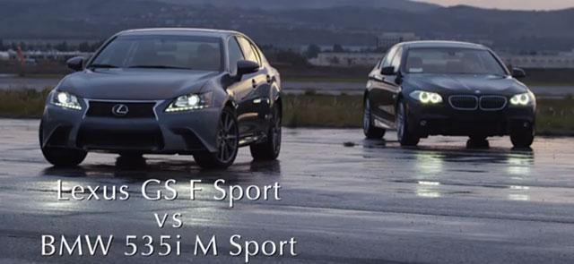 Lexus GS 350 F SPORT vs. BMW 535i M Sport