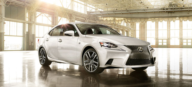 Lexus IS USA Website