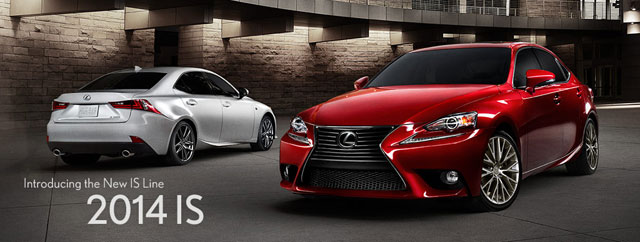 Lexus IS Website Video