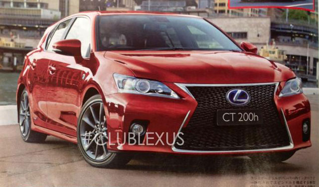 Lexus CT 200h 2014 Update
