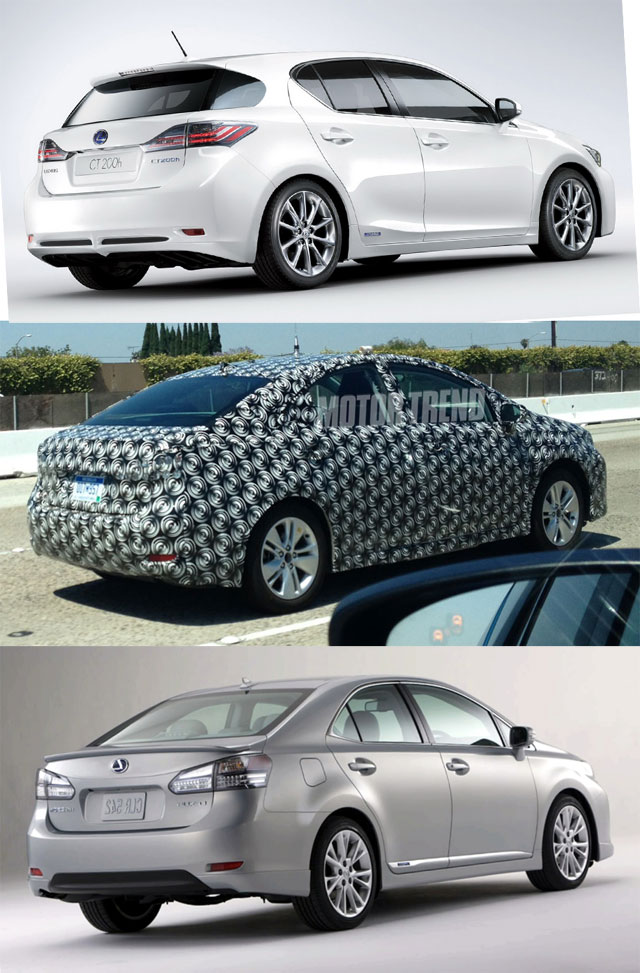 Lexus CT vs Mystery vs HS Etc.