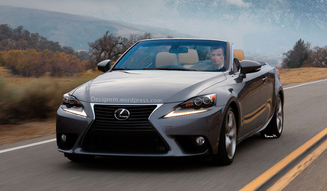 2014 Lexus IS Convertible Front