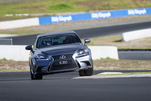 Lexus IS Alan Jones