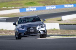 Lexus IS Alan Jones