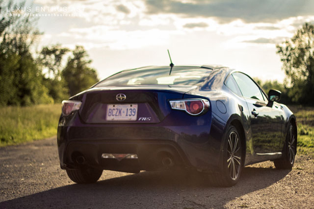 Lexus FR-S Rear 2