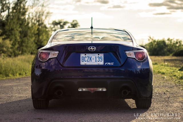 Lexus FR-S Rear