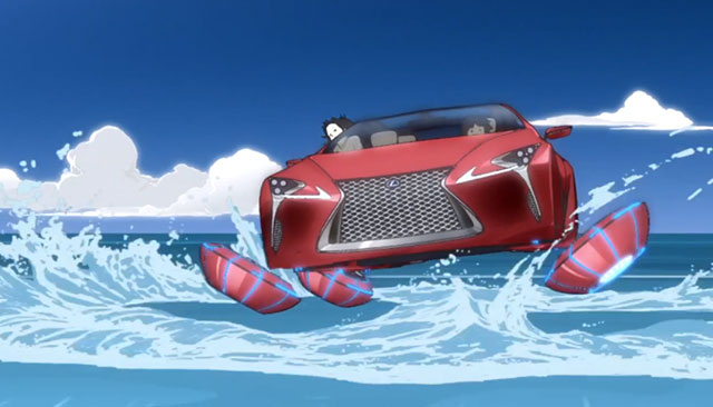Lexus LF-LC Animated
