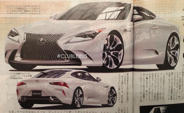 Lexus SC Replacement