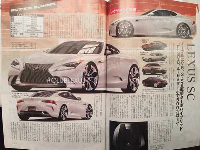Lexus SC Full Page