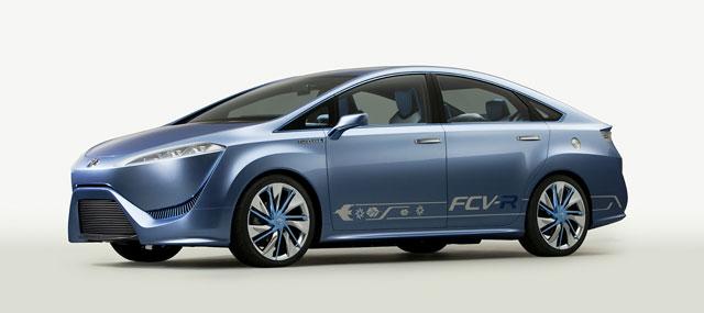 Lexus Hydrogen Fuel Cell Vehicle