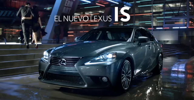 Lexus IS Commercials