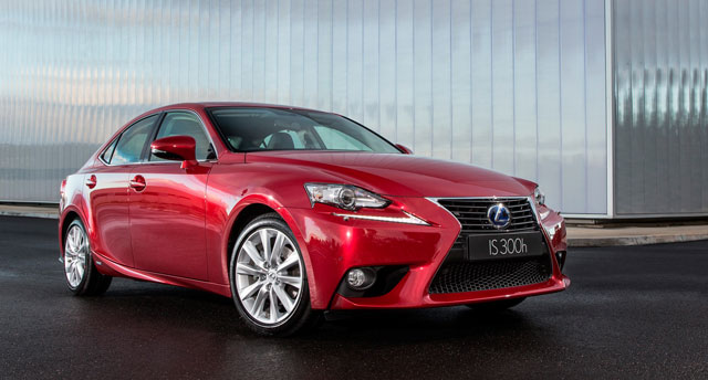 Lexus IS 300h in Australia
