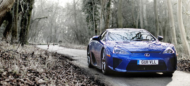 Lexus LFA Top Gear