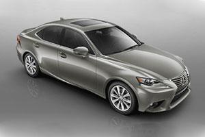 Lexus IS 350 in Atomic Silver