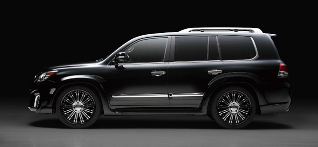 Lexus LX Black Bison Kit by Wald