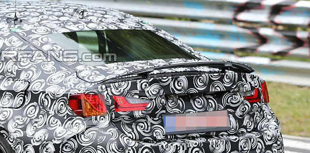 Lexus RC Active rear spoiler