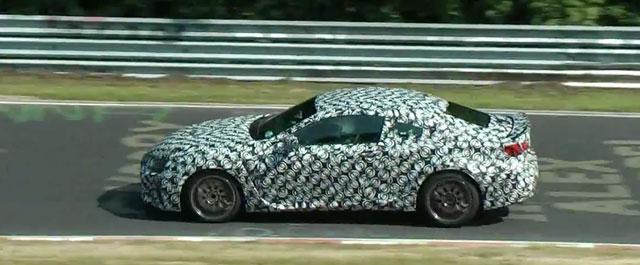 Lexus RC F Prototype Video