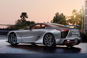 Lexus LFA Jalopnik Photo