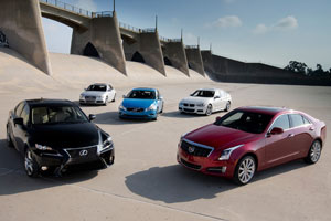 Lexus IS vs the competition