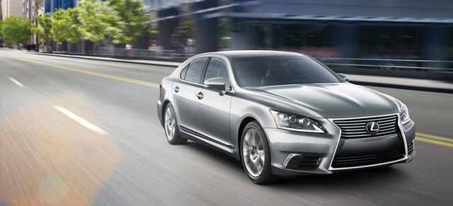 Lexus LS JD Power APEAL Study
