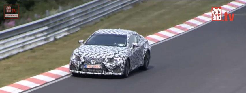 Lexus RC F Prototype