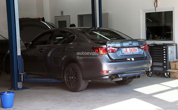 Lexus GS F Test Mule