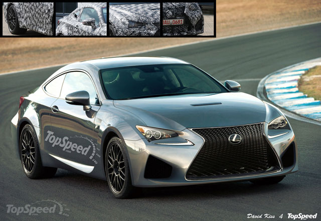 Lexus RC F Rendering Top Speed Full