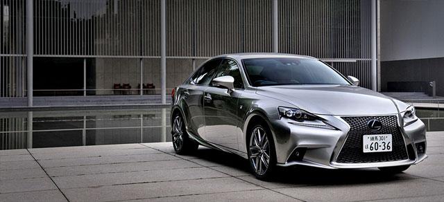 Lexus IS Akio Toyoda