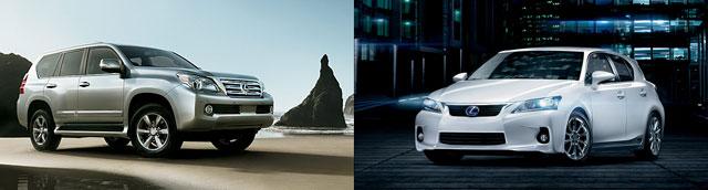 2014 Lexus GX & CT Refresh