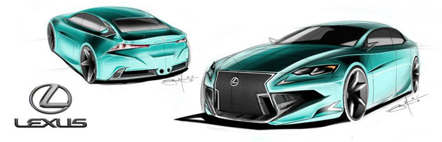Lexus IS Design Contest 1