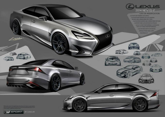 Lexus IS Design Contest 2