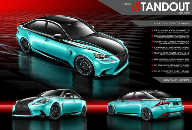 Lexus IS Design Contest 3