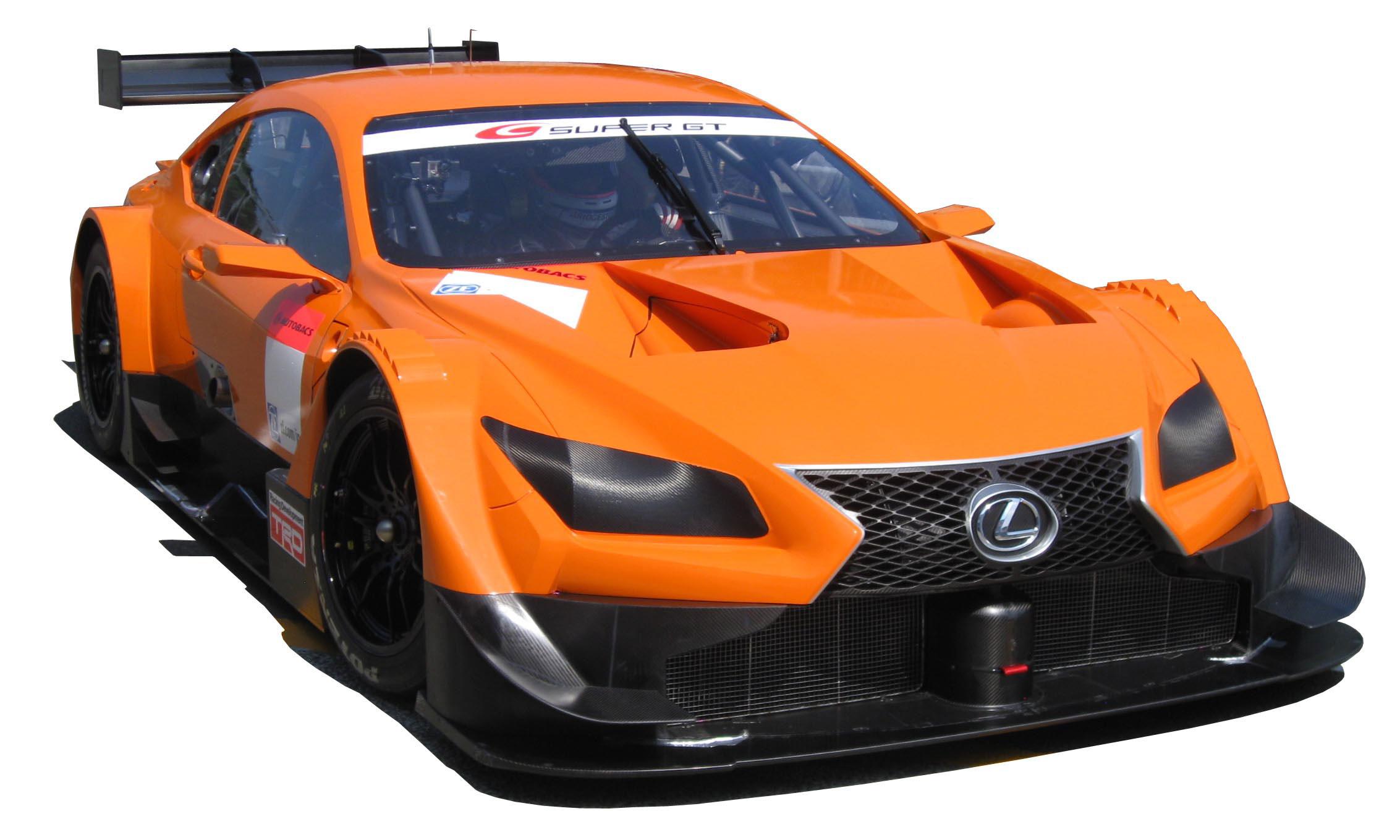 lexus lf cc race car