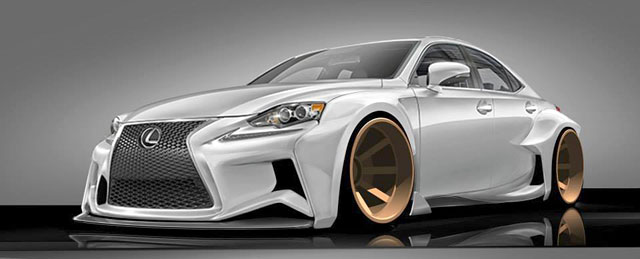 Lexus IS Design Contest Winner